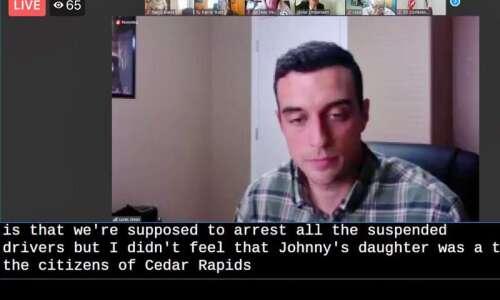 Ousted Cedar Rapids Officer Lucas Jones appeals to judge after…