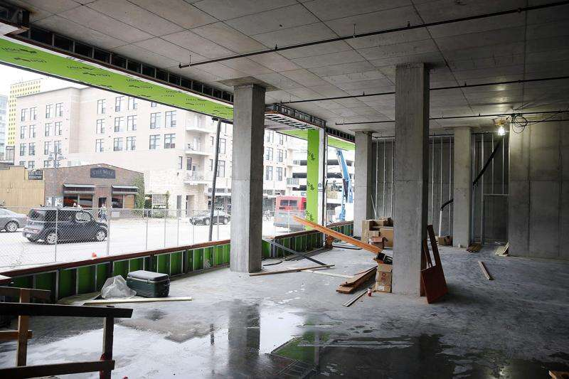 After Iowa City fire, Hieronymus Square condos, hotel shoot for December openings