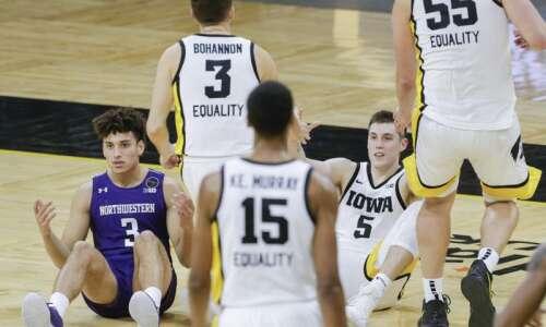 Iowa vs. Northwestern men's basketball glance: Time, TV, live stream,…