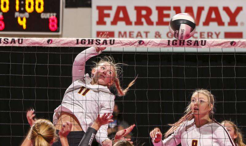 Ankeny shakes off nerves to beat Centennial in state volleyball quarterfinals