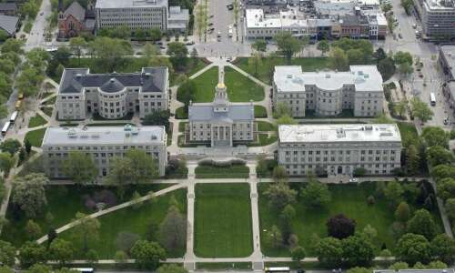 First University of Iowa presidential finalist to visit Monday