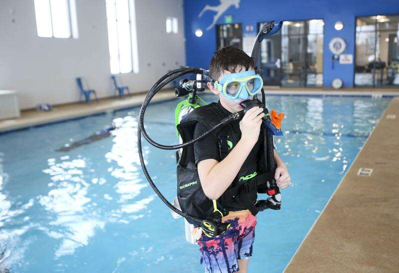 Take a dive at Diventures in North Liberty