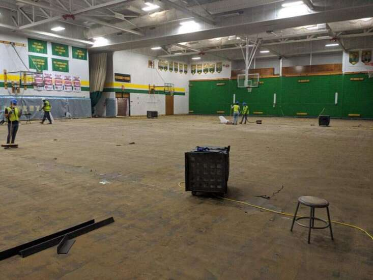 First event in Cedar Rapids Kennedy's renovated gymnasium is Monday