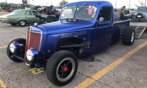 Oxford's Art Jensen makes the most of his custom-built truck…