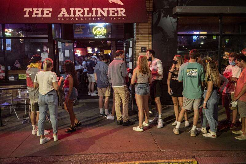 Reynolds closes bars in 6 Iowa counties, including Johnson and Linn, as COVID-19 cases surge