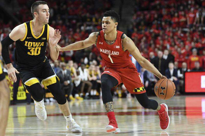 Iowa men's basketball falls at Maryland as Anthony Cowan scores career-high 31
