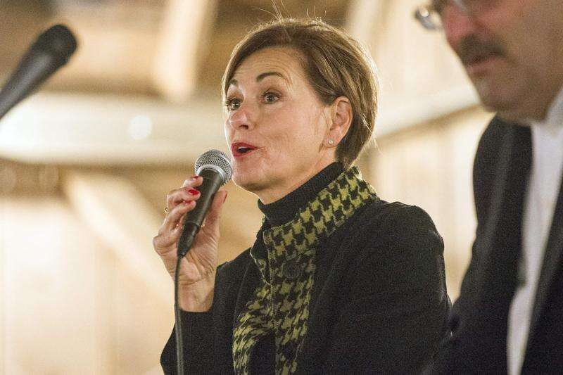 When Kim Reynolds says 'all of the stakeholders,' who is really at the table?