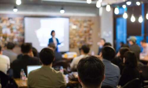 Rein in meetings with stronger public speaking skills