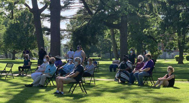 Prayer vigil in Mt. Pleasant held for George Floyd, other victims of police violence