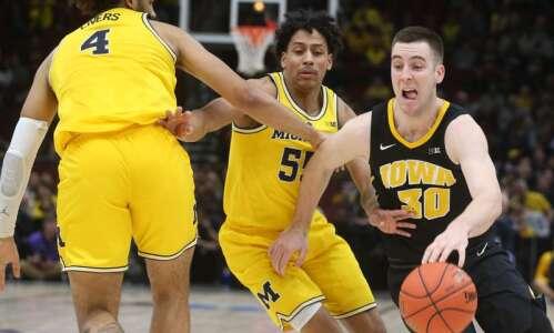 Iowa vs. Michigan men's basketball glance: Time, TV, live stream,…