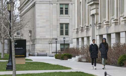 Higher ed enrollment drops across Iowa