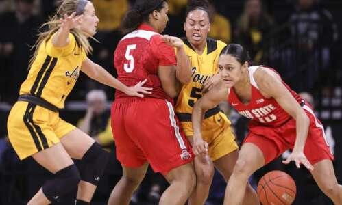 Photos: Iowa women's basketball vs. Ohio State