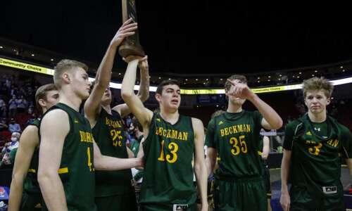 Photos: Dyersville Beckman vs. Des Moines Christian, Iowa Class 2A…
