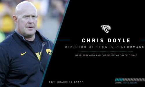 Jacksonville Jaguars Coach Urban Meyer calls new hire Chris Doyle…