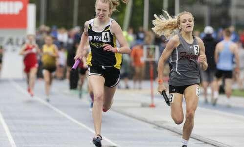 Iowa 2A girls' state track and field: Mid-Prairie edges A-P…