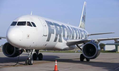 Frontier to fly from Cedar Rapids to Las Vegas