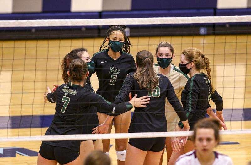 Iowa City West rallies to top City High in regional volleyball quarterfinals