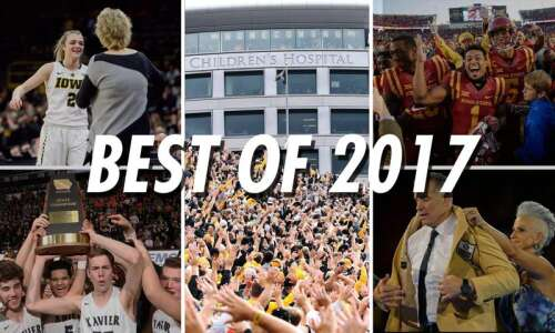 The Top 10 Eastern Iowa sports stories of 2017