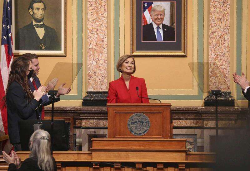 Gov. Kim Reynolds proposes raising public university funding $45 million over two years