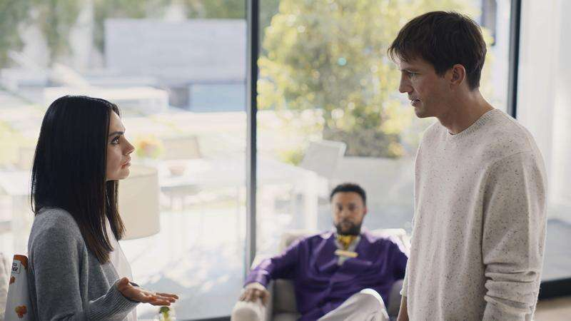 Ashton Kutcher and spouse Mila Kunis featured in Cheetos Super Bowl ad