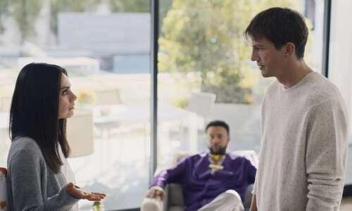 Ashton Kutcher and spouse Mila Kunis featured in Cheetos Super…