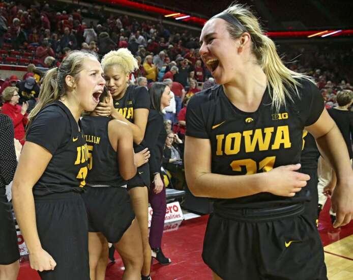 Iowa women's basketball pursues third straight win vs. Iowa State