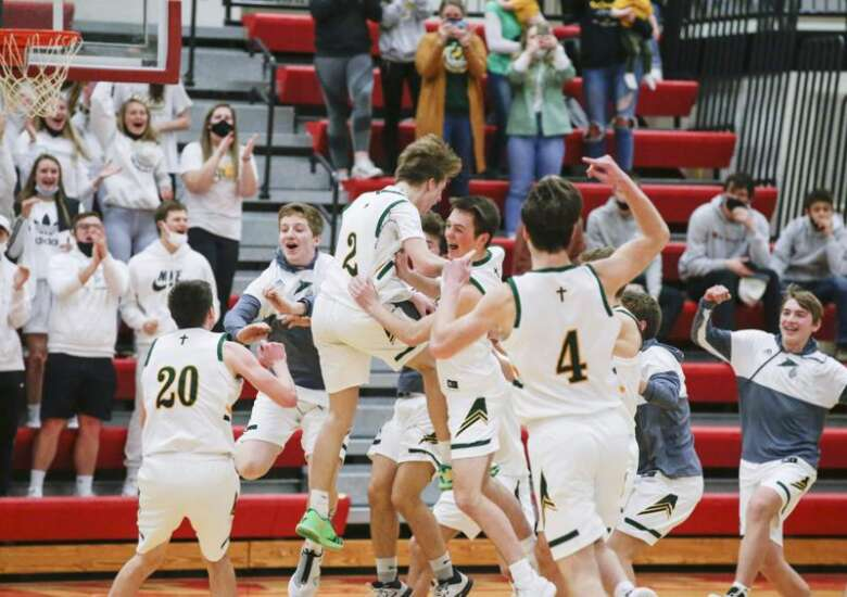 Beckman, inspired by injured leading scorer, beats No. 9 West Branch in substate OT thriller