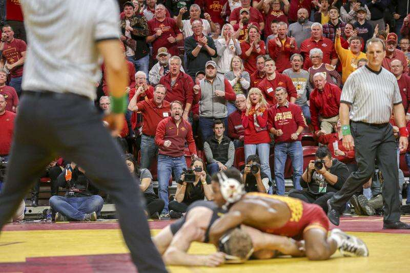 Iowa State set to host Wartburg in November wrestling dual