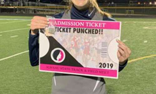 Xavier's Julia Shoger learned to hurdle — and a lot…