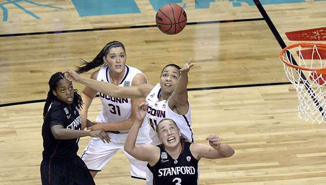 Stokes, UConn women roll into undefeated championship showdown