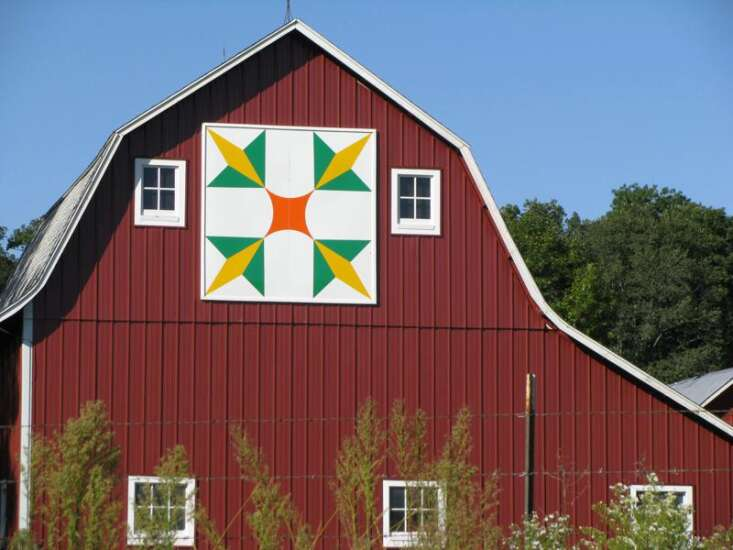 Barn quilts offer brighten up the countryside