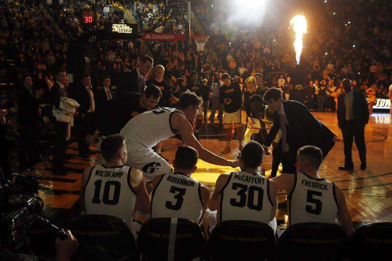 Several Iowa men's basketball nonconference games are booked for 2020-21 season