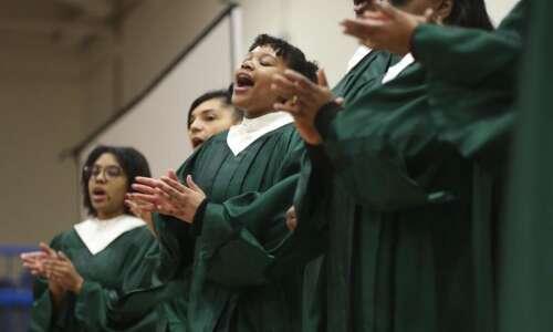 Photos: Cedar Rapids Washington celebrates Black History Month