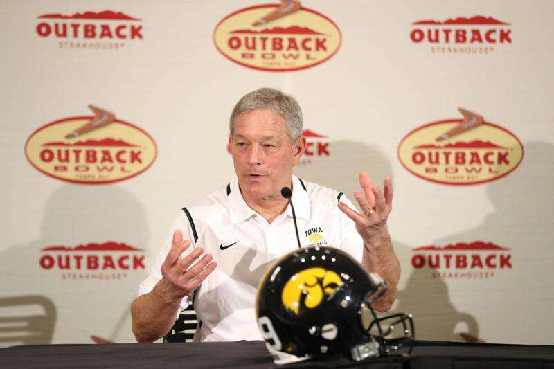 Iowa football notes: Hawkeyes planned for the 'clanga' of Mississippi State the best they could