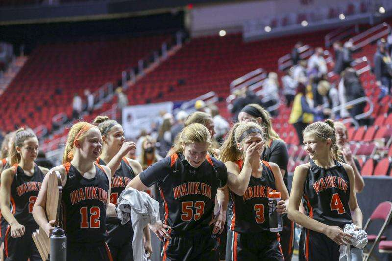 Clear Lake puts the brakes on Waukon in girls' state basketball tournament
