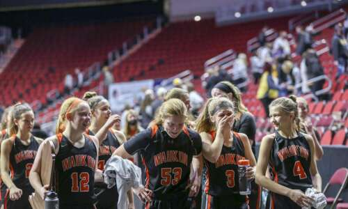 Clear Lake puts the brakes on Waukon in girls' state…