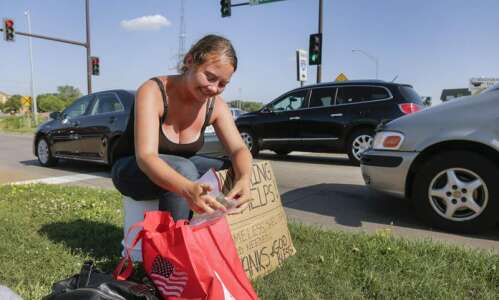 'Pedestrian safety' rules would clamp down on panhandling in Cedar…