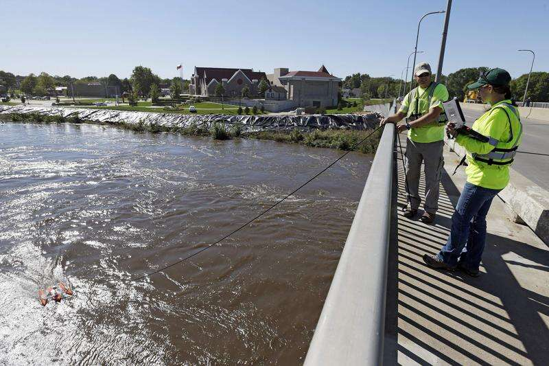 Iowa's Flood Center turns 10 as waters rise again