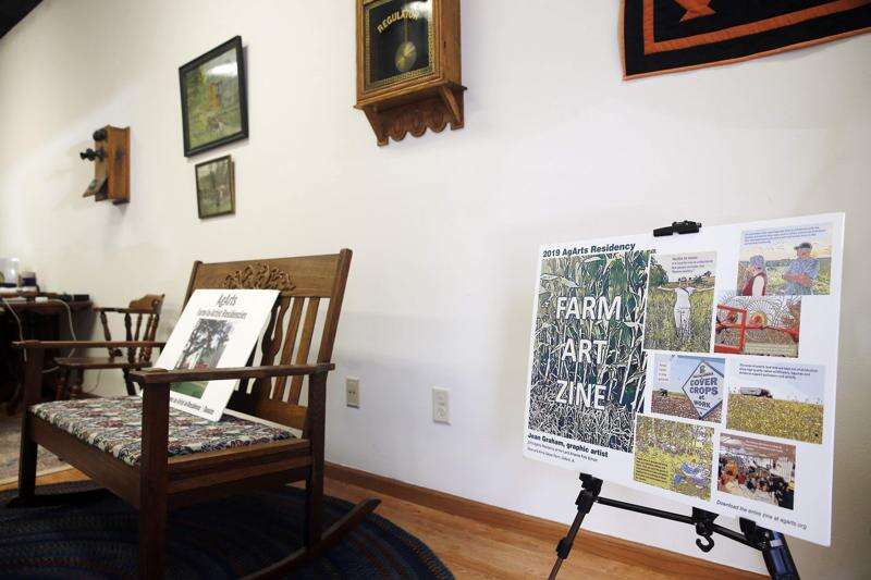 Art meets agriculture in program that invites artists to live on Iowa farms