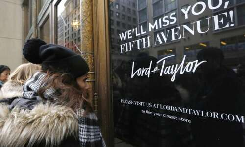 Retail rout continues as Men's Wearhouse, others seek bankruptcy protection