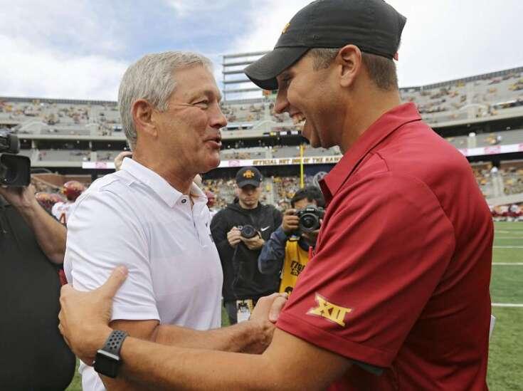 Iowa college coaches still highest-paid state employees, despite shorter seasons