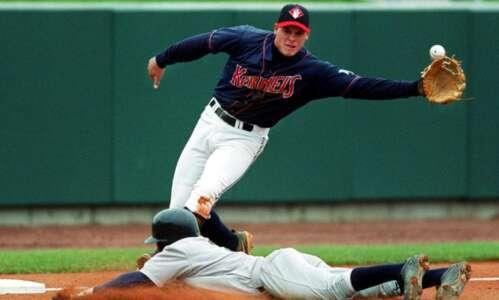Former Kernel Dallas McPherson returns to Cedar Rapids ... this…