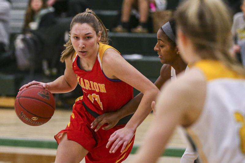 Riley Wright's career-high 28 lifts Marion girls' basketball past Kennedy