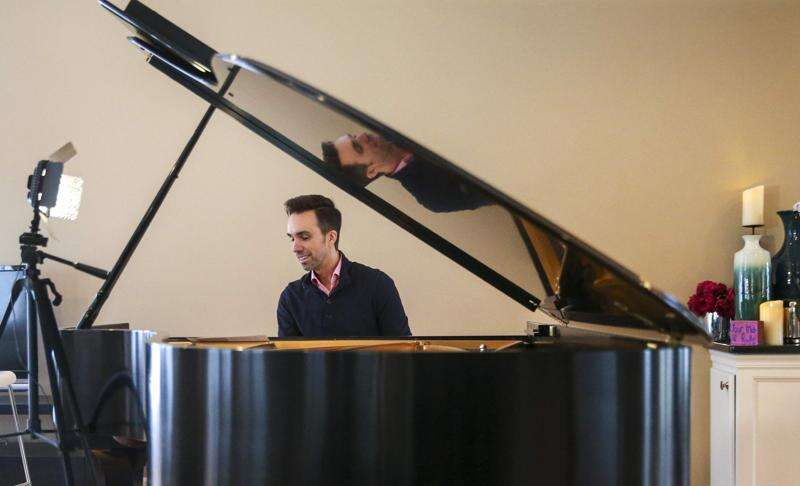 Pianist Jim McDonough creating connections through Facebook Live concerts