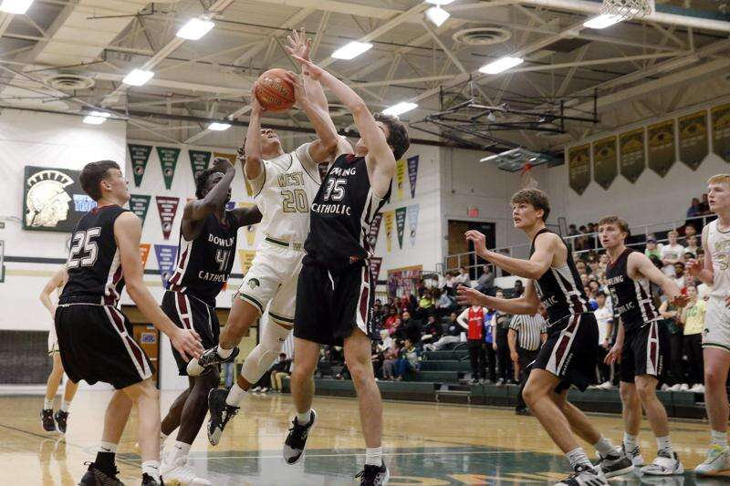Marcus Morgan's big first half helps lift Iowa City West past Dowling