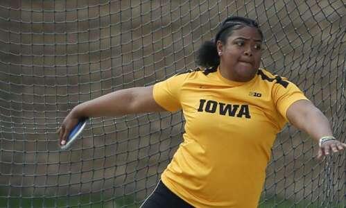 Iowa's Laulauga Tausaga takes aim at NCAA discus title