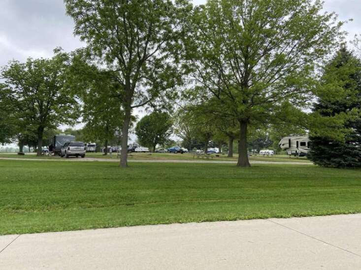 Campers return as campgrounds officially open to visitors