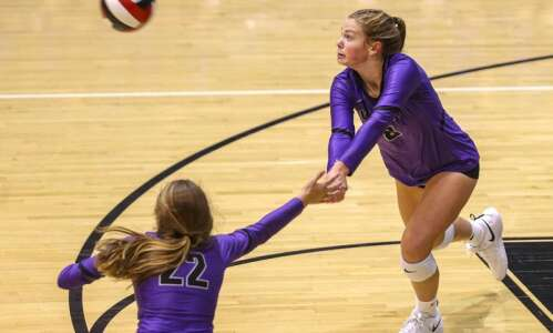 Liberty rises to No. 1 in final regular-season area volleyball…