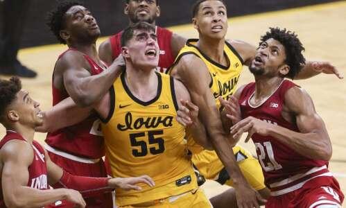 Photos: Iowa Hawkeyes men's basketball vs. Indiana Hoosiers