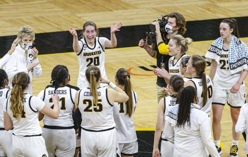 Iowa women's basketball team is 'not in awe anymore' against ranked opponents
